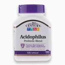 Acidophilus Probiotic Blend (100 Capsules) by 21st Century
