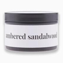 Ambered Sandalwood Soy Candle (2oz) by Happy Island