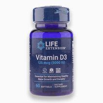 Vitamin D3 (125 mcg | 5,000 IU, 60 Softgels) by Life Extension