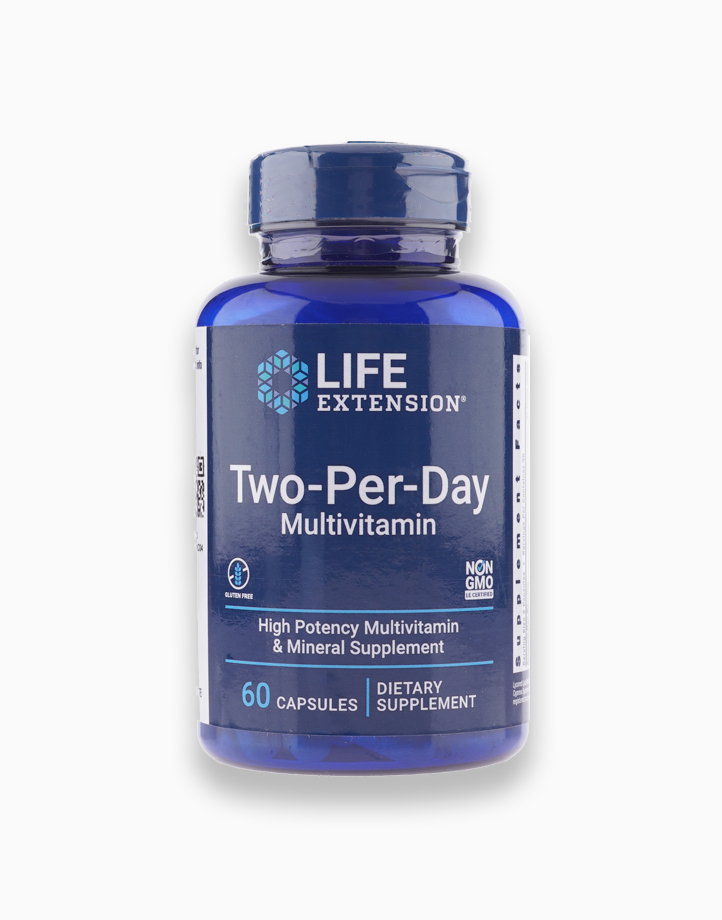 Two-Per-Day Multivitamin (60 Capsules) by Life Extension