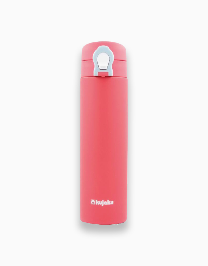 One Touch Double Wall Stainless Steel Vacuum Bottle (500ml) by Kujaku |