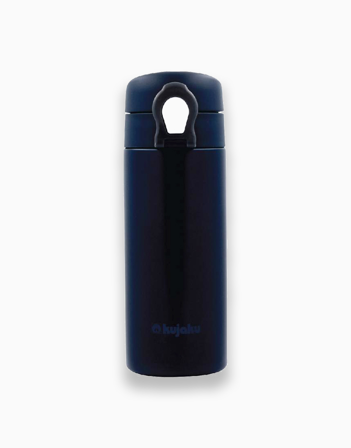 One Touch Double Wall Stainless Steel Vacuum Bottle (350ml) by Kujaku  