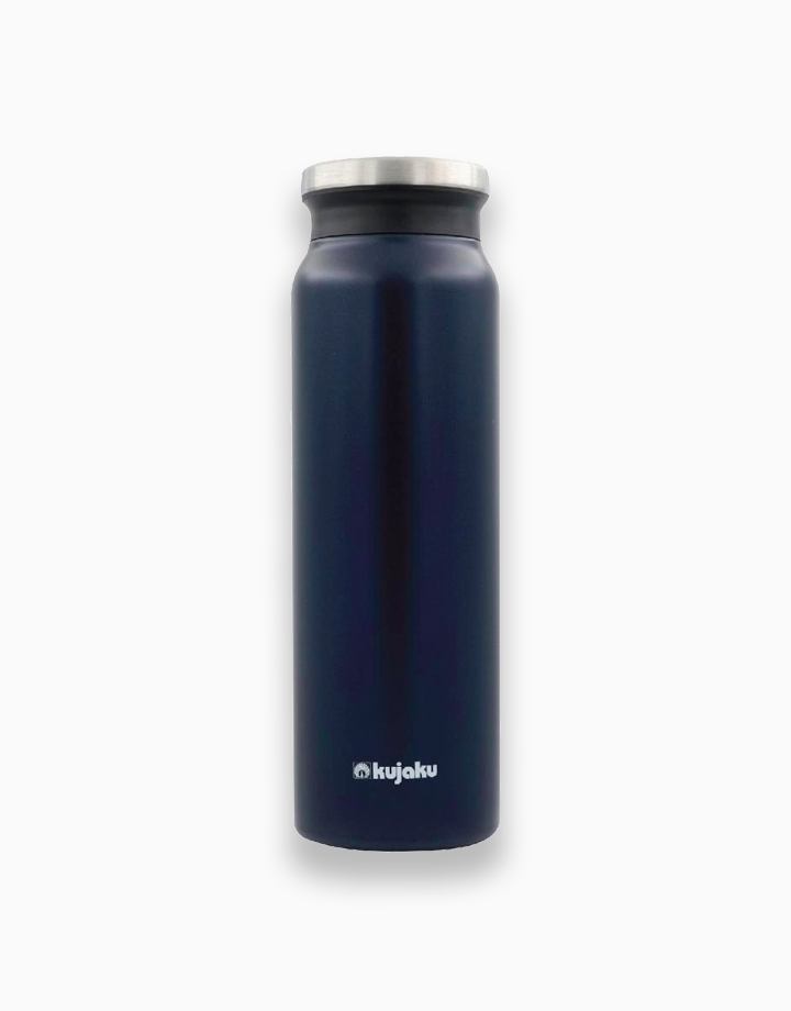 Double Wall Stainless Steel Vacuum Bottle (800ml) by Kujaku   Indigo