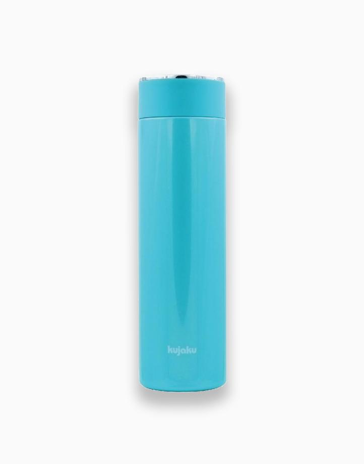 Stainless Steel Slim Bottle (500ml) by Kujaku   Sky Blue