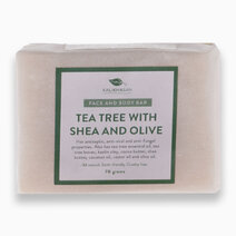 Tea Tree Facial Bar with Shea and Olive (70g) by Kalikhasan Eco-Friendly Solutions