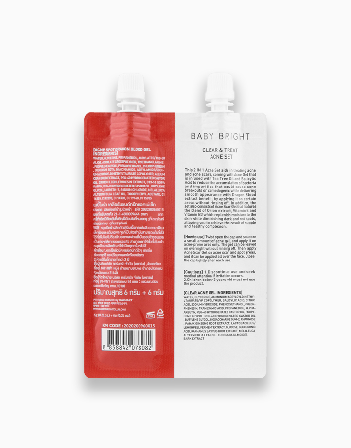 Acne Clear Set by Baby Bright