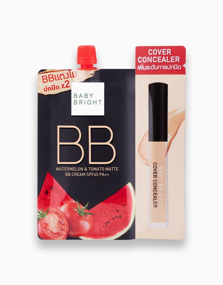 Watermelon & Tomato Matte BB Cream SPF45 PA++ Sachet by Baby Bright