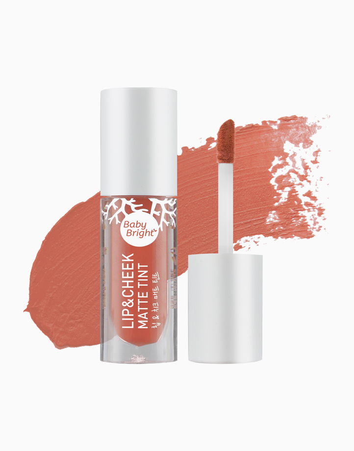 Lip and Cheek Matte Tint by Baby Bright   #14 Paprika