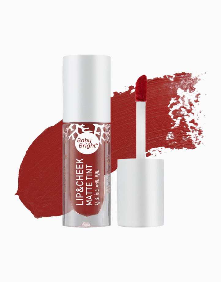 Lip and Cheek Matte Tint by Baby Bright   #19 Pomegranate