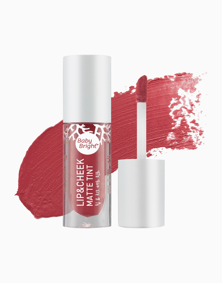 Lip and Cheek Matte Tint by Baby Bright   #04 Spiced Coral