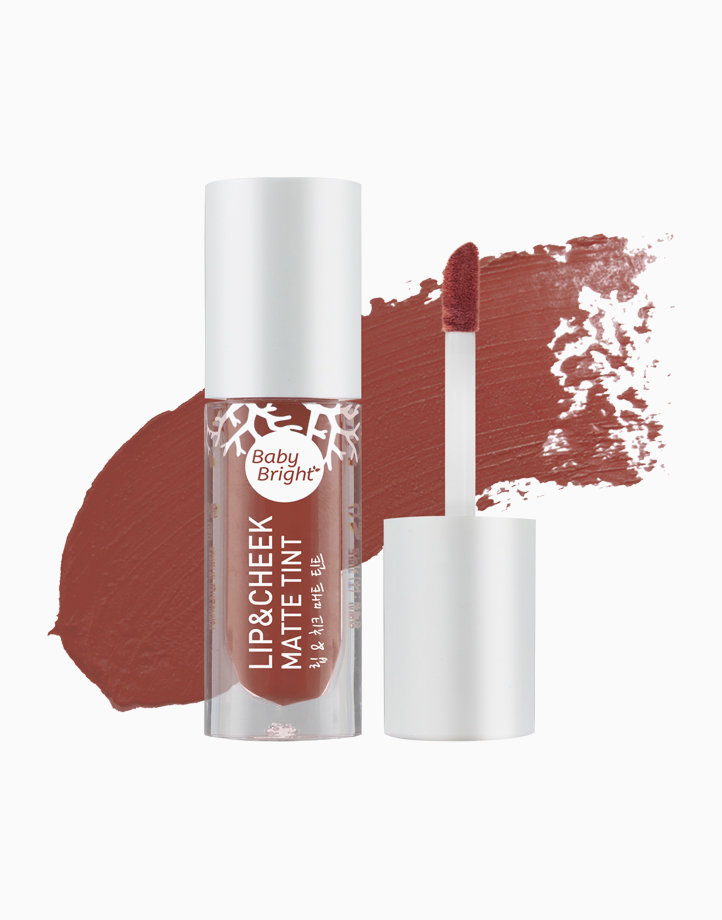 Lip and Cheek Matte Tint by Baby Bright   #18 Dry Rose