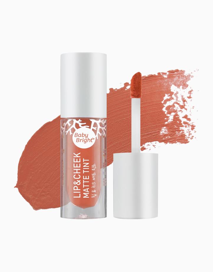 Lip and Cheek Matte Tint by Baby Bright   #13 Goji