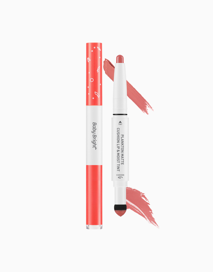 Plankton Matte Cushion Lip and Moist Tint by Baby Bright   #01 Peach Coral