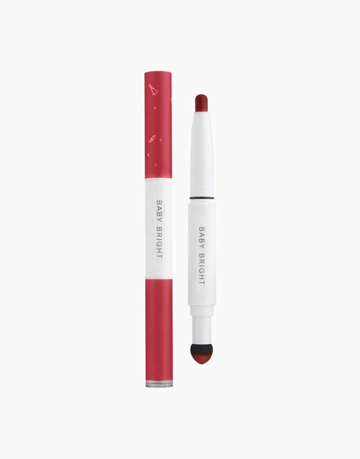 Plankton Matte Cushion Lip and Moist Tint by Baby Bright   #16 MLBB Red