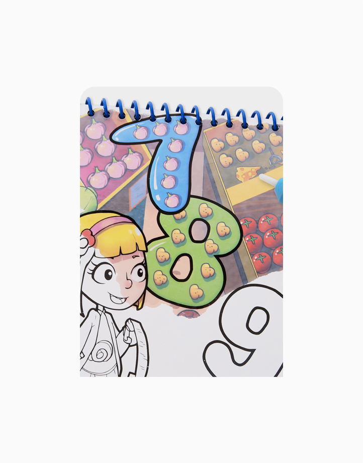 Magic Water Coloring Pad by Joan Miro   First Number
