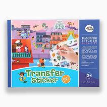 Transfer Sticker Scenes Set - Busy City by Joan Miro