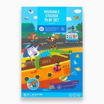 Reusable Sticker Play Set by Joan Miro