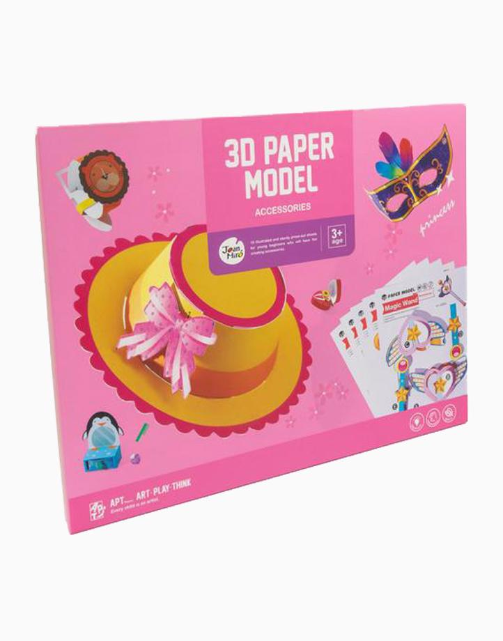 3D Paper Model by Joan Miro   Accessories