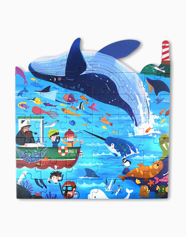 Thematic Floor Puzzle Series by Joan Miro   Ocean Cruise