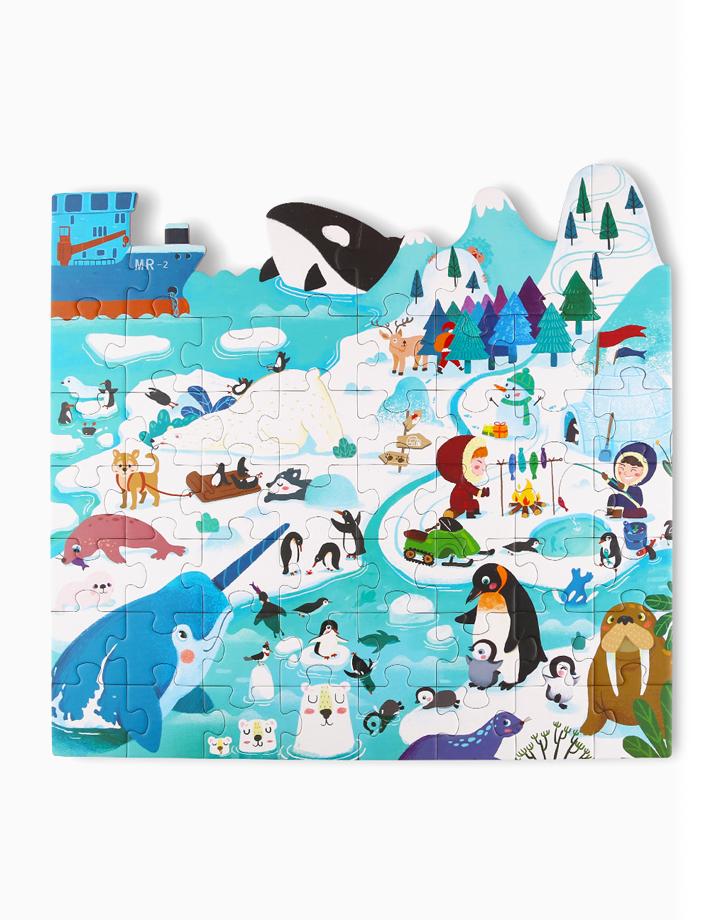 Thematic Floor Puzzle Series by Joan Miro   Polar Animals