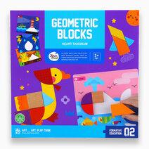 Geometric Blocks by Joan Miro