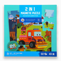 2 in 1 Magnetic Puzzle by Joan Miro