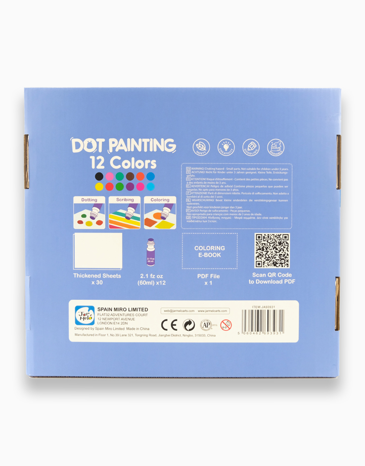 Dot Painting - 12 Colors by Joan Miro