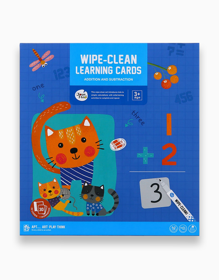 Wipe-Clean Learning Cards by Joan Miro   Addition and Subtraction
