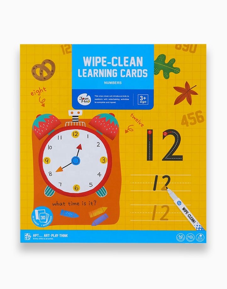 Wipe-Clean Learning Cards by Joan Miro   Numbers