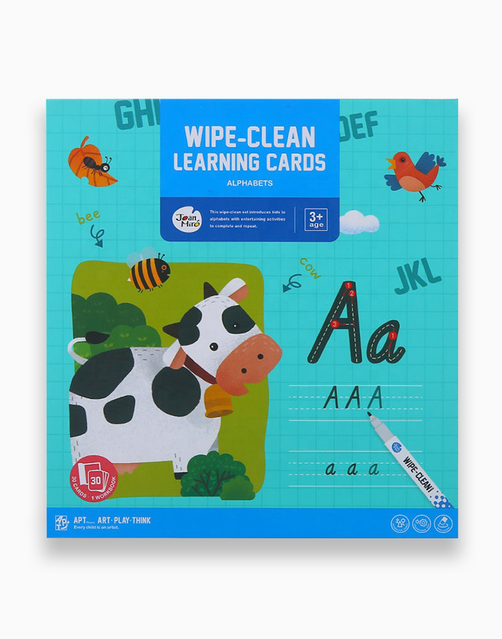 Wipe-Clean Learning Cards by Joan Miro   Alphabets