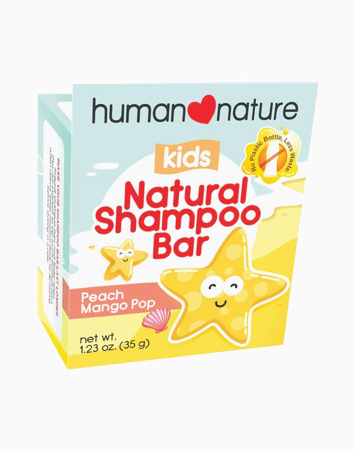 Kids Natural Shampoo Bar Peach (35g) by Human Nature