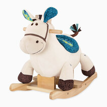 Rocking Horse with Blue by B. Toys