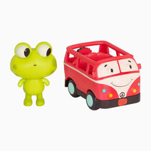 Land of B. Frog (Jax) and Bus (Groovy Patootie) by B. Toys