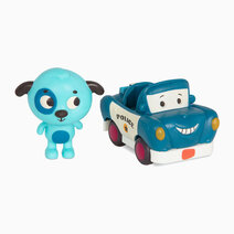 Land of B. Dog (Woofer) and Police Car (Officer Lawly) by B. Toys
