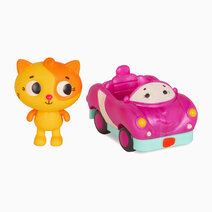 Land of B.. Cat (Lolo) and Car (Smarty Pants) by B. Toys