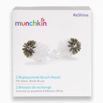 ReShine Refill Bottle Brush (Pack of 2) by Munchkin