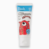 Children's Toothpaste with Fluoride - 3-12 yrs (50ml) by Buds Organics