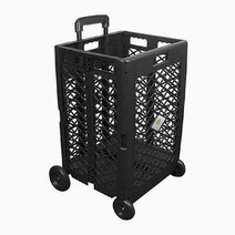 Foldable Utility Cart (Tall) by Clever Spaces