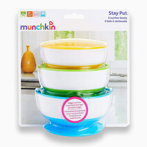 Stay Put Suction Bowl by Munchkin