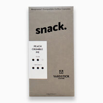 Snack Nespresso® Capsule in Peach Crumble Pie  by Yardstick Coffee