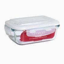 Robbia 370ml Rectangular Glass Food Keeper by Omega Houseware