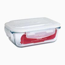 Robbia 640ml Rectangular Glass Food Keeper by Omega Houseware