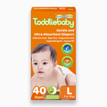 Gentle Touch Diapers Large (40s) by Toddliebaby