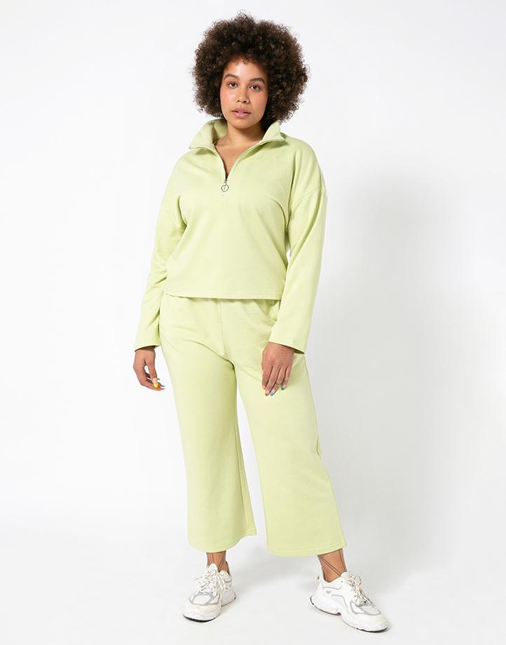 Comfort Zone Pant in Pandan by Recess | XS