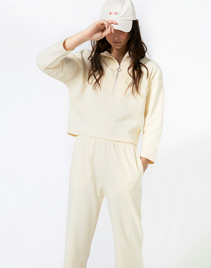 Comfort Zone Pant in Custard by Recess | XS