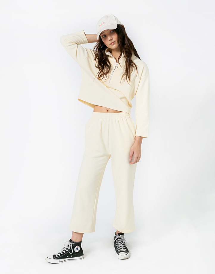 Comfort Zone Pant in Custard by Recess | M