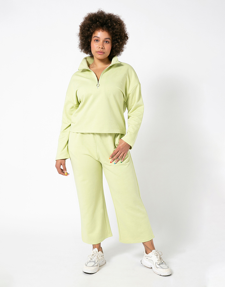Comfort Zone Pullover in Pandan by Recess | S