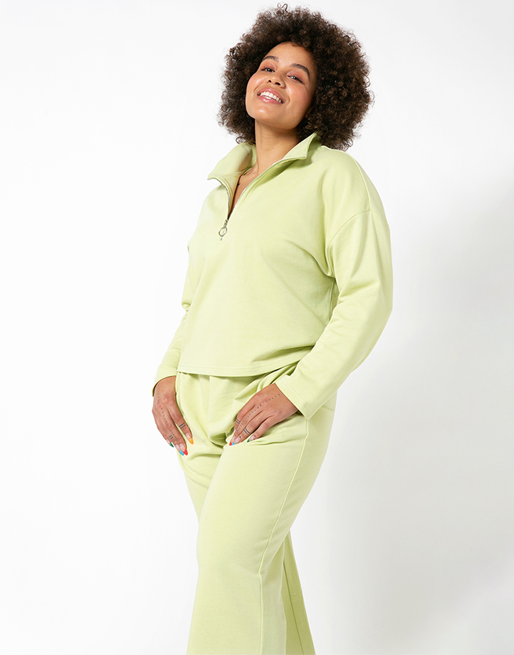 Comfort Zone Pullover in Pandan by Recess | L