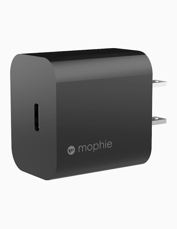 Accessories Power Adapter USB-C 18W by Mophie   Black