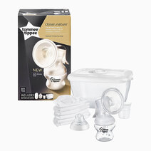 Closer to Nature Silicone Manual Breast Pump by Tommee Tippee